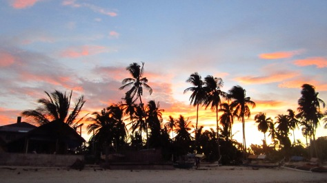 Sunset at Bantayan Island Cebu
