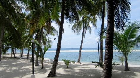 At Kota Beach Resort, Bantayan Island, Cebu, Philippines