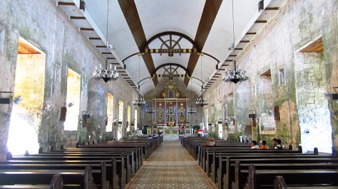 inside the parish church