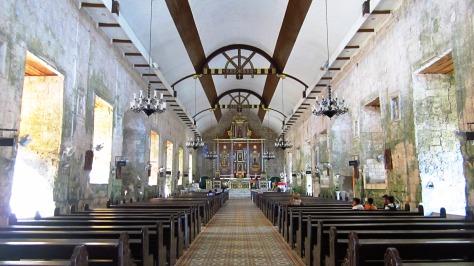 inside the parish church