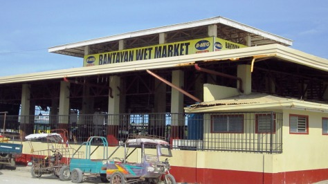 Wet Market, Bantayan Island