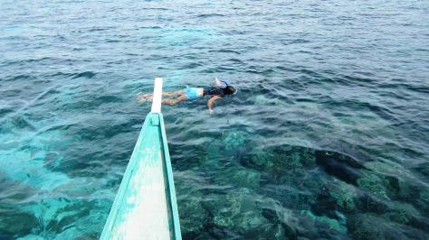Snorkeling, Bantayan Island, Cebu