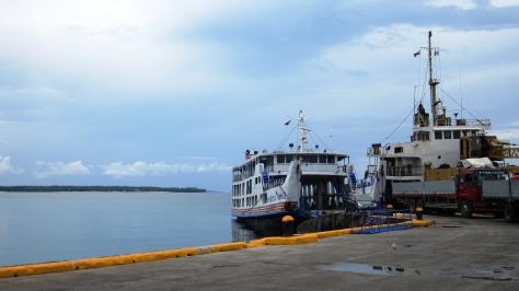 Sta. Fe port, Bantayan Island, Cebu, Philippines