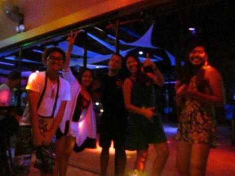 Party at Juice Bar, Boracay