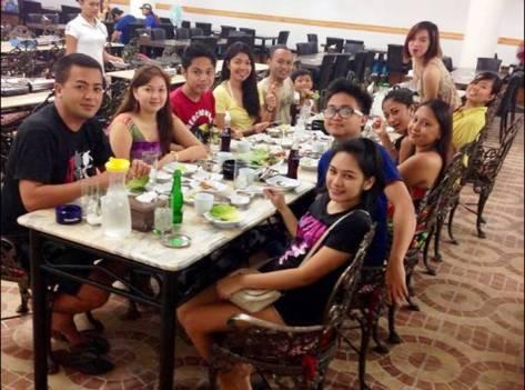 Korean dinner buffet