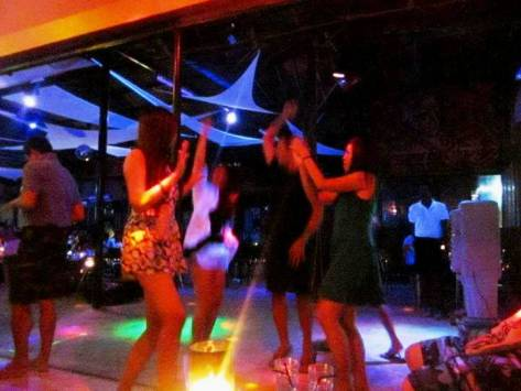Party at Juice Bar, Boracay