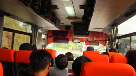 On the way to Sagada