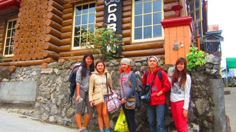 With the team, Sagada