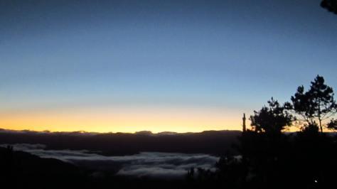 Sunrise at Kiltepan View Point