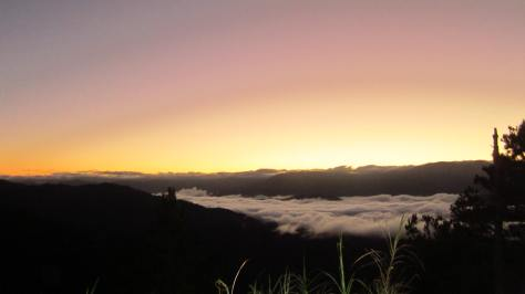 Sunrise at Kiltepan View Point